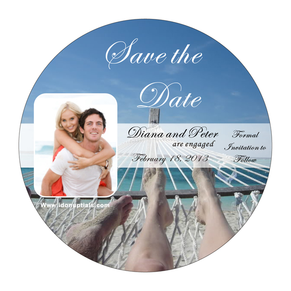 For more details on this outstanding Beach Save the Date Magnet CLICK HERE